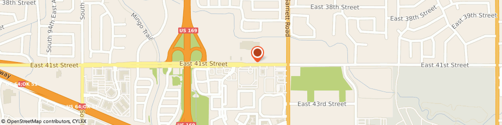 Route/map/directions to SUPERCUTS, 74146 Tulsa, 11011 E 41St St