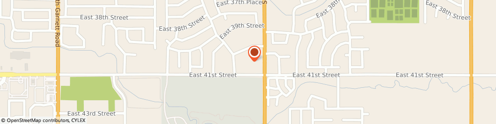 Route/map/directions to H&R Block, 74146 Tulsa, 12757 E 41st St