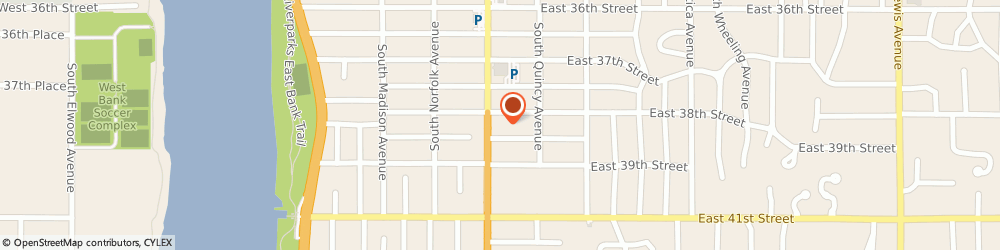 Route/map/directions to SUPERCUTS, 74105 Tulsa, 3807 S Peoria Ave Ste E