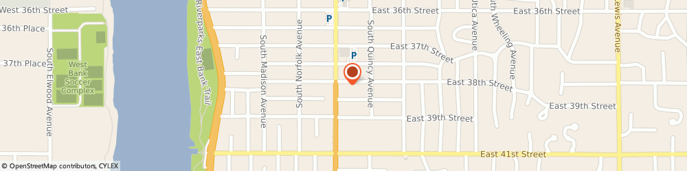 Route/map/directions to H&R Block, 74105 Tulsa, 3807-b S Peoria
