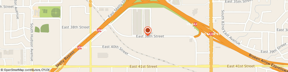 Route/map/directions to Texaco Incorporated, 74145 Tulsa, 7214 EAST 38TH STREET