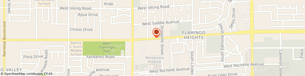 Route/map/directions to US BANK, 89103 Las Vegas, 5940 WEST FLAMINGO ROAD