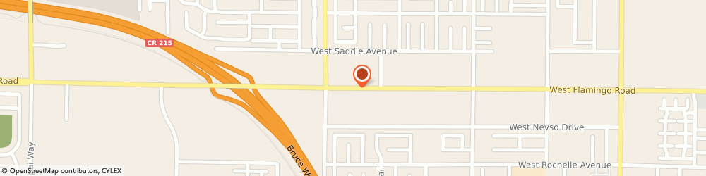 Route/map/directions to US BANK, 89147 Las Vegas, 9350 WEST FLAMINGO ROAD