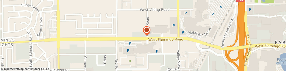 Route/map/directions to JamesTheFourth, 89103 Las Vegas, 4100 Flamingo Rd. #2750