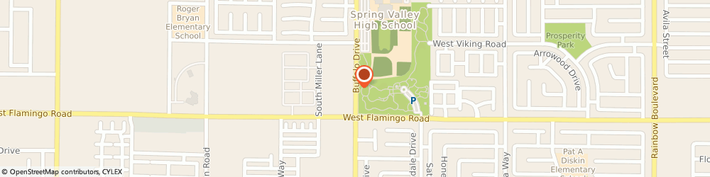 Route/map/directions to US BANK, 89117 Las Vegas, 4015 SOUTH BUFFALO DRIVE