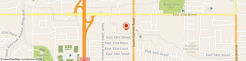 Route/map/directions to CubeSmart Self Storage, 74146 Tulsa, 3218 South Garnett Road