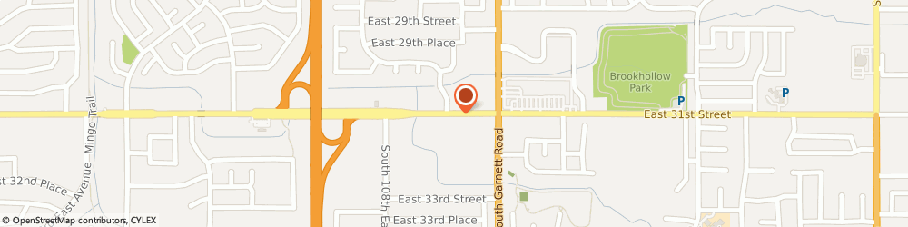 Route/map/directions to MaidPro, 74146 Tulsa, 12802 East 31st Street