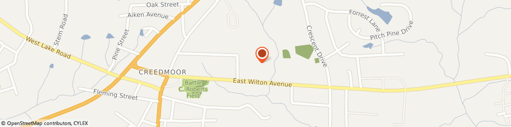 Route/map/directions to China Wok, 27522 Creedmoor, 2165 WILTON AVE