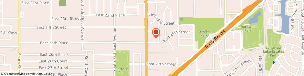 Route/map/directions to HCR ManorCare ManorCare Health Services-Tulsa, 74129 Tulsa, 2425 South Memorial Dr