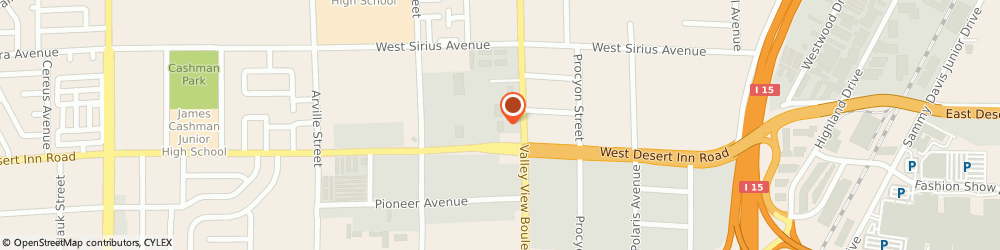 Route/map/directions to AlphaGraphics, 89102 Las Vegas, 3111 S. Valley View Blvd.