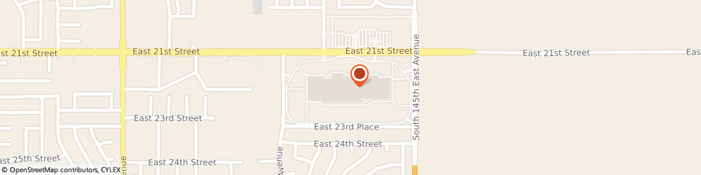 Route/map/directions to Regis Salons, 74134 Tulsa, 14002 E 21ST ST # B17
