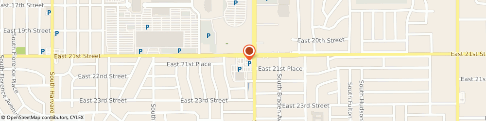 Route/map/directions to Panda Express, 74114 Tulsa, 4728 East 21St Stree