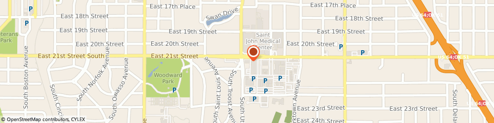 Route/map/directions to Prosperity Bank, 74114 Tulsa, 1700 Utica Square