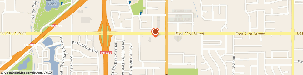 Route/map/directions to H&R Block, 74129 Tulsa, 11102 E 21st St