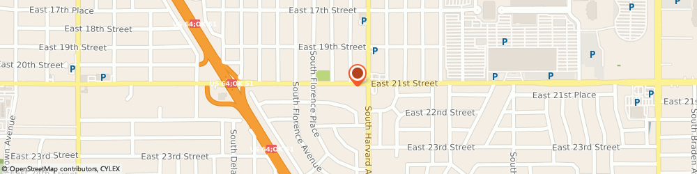 Route/map/directions to Mathnasium, 74114 Tulsa, 3230 E 21St St, Suite B