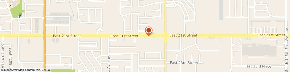 Route/map/directions to Best Cuts, 74129 Tulsa, 12534 EAST 21ST STREET
