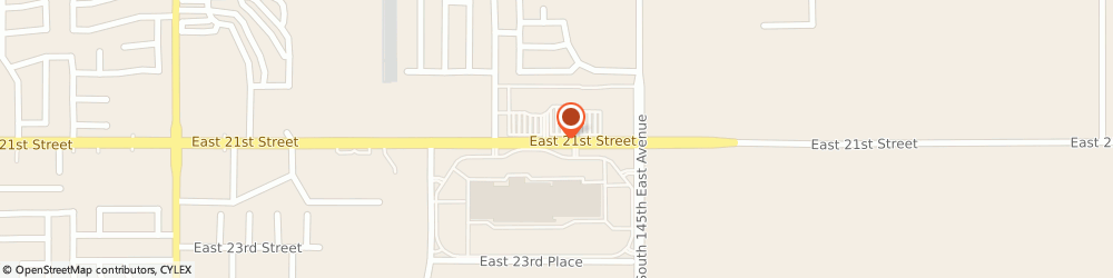 Route/map/directions to Cali Group Services, 74134 Tulsa, 14201 east 21st street
