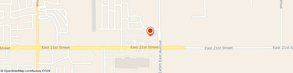 Route/map/directions to Claire's, 74108 Tulsa, 14303 E. 21St Street