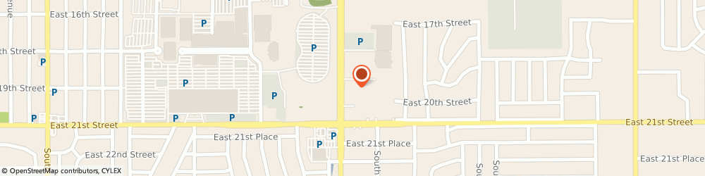 Route/map/directions to SUPERCUTS, 74112 Tulsa, 1931 S Yale