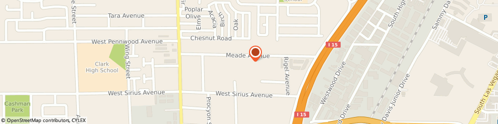 Route/map/directions to Adstudio Advertising / Design, 89102 Las Vegas, 3227 MEADE AVE. SUITE 1-B