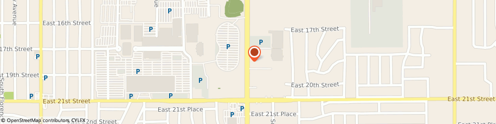 Route/map/directions to H & r Block Tax Svc, 74112 Tulsa, 1901 S YALE AVE