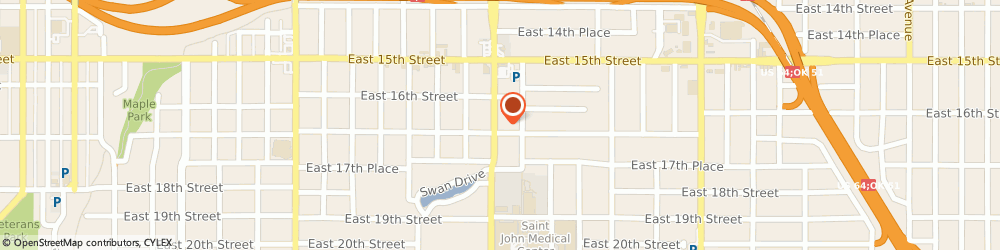 Route/map/directions to NovaCare Rehabilitation TULSA, 74104 Tulsa, 1623 South Utica Avenue