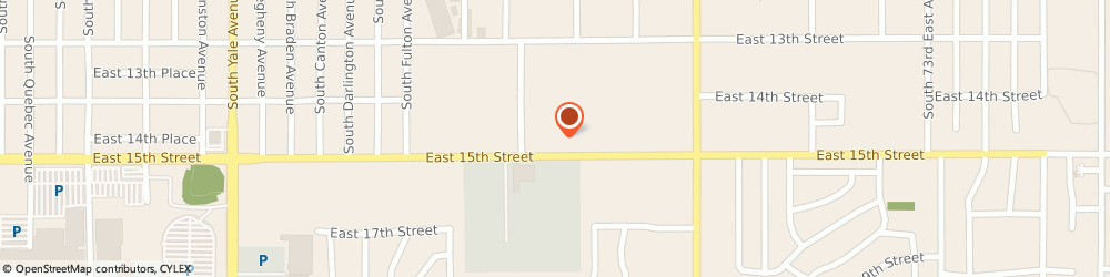 Route/map/directions to Alternative Automotive, 74112 Tulsa, 5935 E 15th St