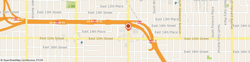 Route/map/directions to H&r Block, 74104 Tulsa, 1420 S Lewis