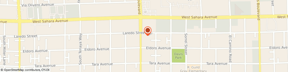 Route/map/directions to Gazda & Tadayon Injury Law Firm, 89146 Las Vegas, 2600 S Rainbow Blvd