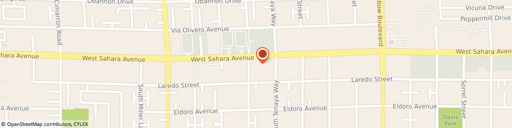 Route/map/directions to Crazy Brothers Pizzeria, 89117 Las Vegas, 7365 WEST SAHARA AVENUE