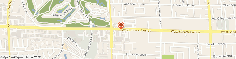 Route/map/directions to US BANK, 89117 Las Vegas, 8555 WEST SAHARA AVENUE