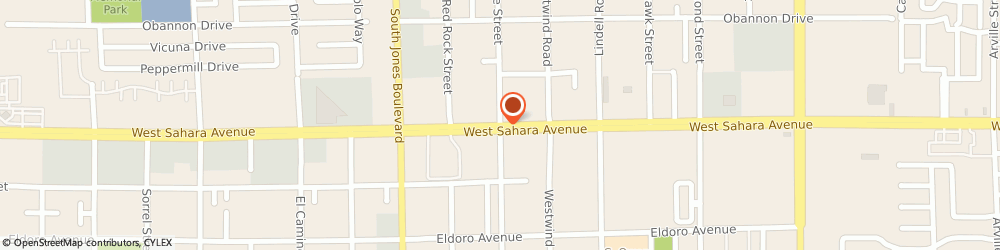 Route/map/directions to Valley View Surgical, 89146 Las Vegas, 5410 West Sahara Avenue