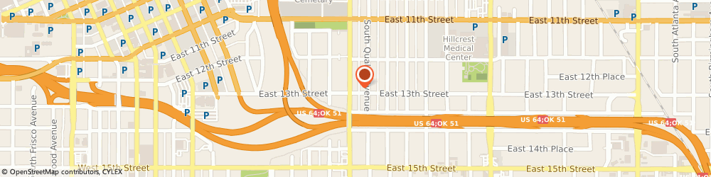 Route/map/directions to LABOR FINDERS TULSA, 74120 Tulsa, 1241 S. Peoria Ave