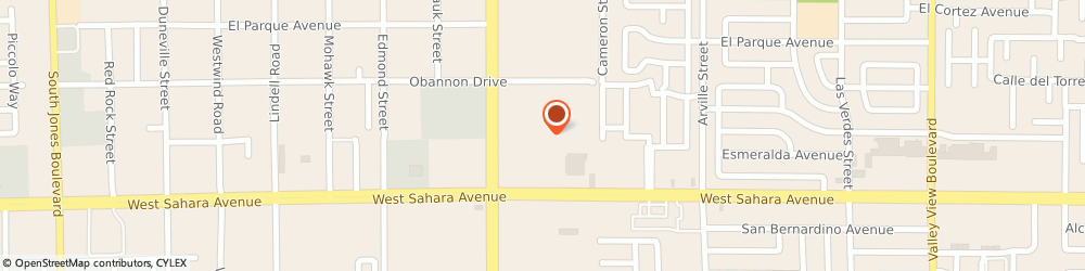 Route/map/directions to Cold Stone Creamery, 89102 Las Vegas, 4604 WEST SAHARA AVENUE