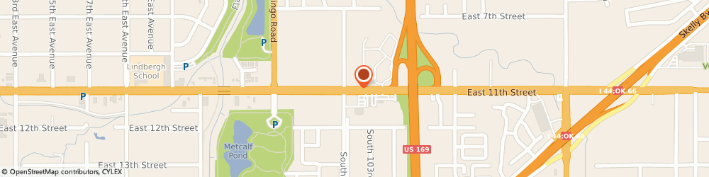 Route/map/directions to CPR-American Red Cross, 74128 Tulsa, 10151 EAST 11TH STREET