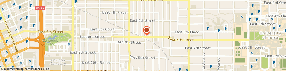 Route/map/directions to Antique Restorations, 74104 Tulsa, 1757 E. 6th Street