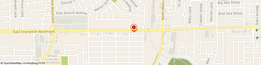 Route/map/directions to Metro by T-Mobile, 89104-6402 Las Vegas, 4915 E CHARLESTON BLVD