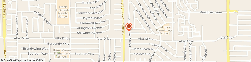 Route/map/directions to Jesse Fonseca at CrossCountry Mortgage, LLC, 89107 Las Vegas, 400 S. Jones Blvd.