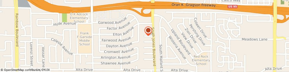 Route/map/directions to Agevac Heating and Cooling, 89107 Las Vegas, 6108 Edgewood Cir