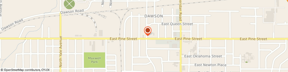 Route/map/directions to U-Haul Co., 74115 Tulsa, 6013 E PINE ST