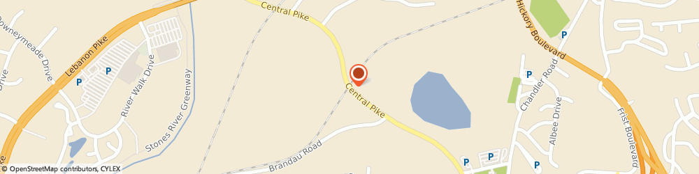 Route/map/directions to Re-Bath, 37076 Hermitage, 3660 Central Pike