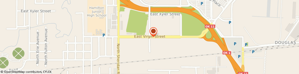 Route/map/directions to HYDRASOURCE, 74115 Tulsa, 6910 East Virgin Street