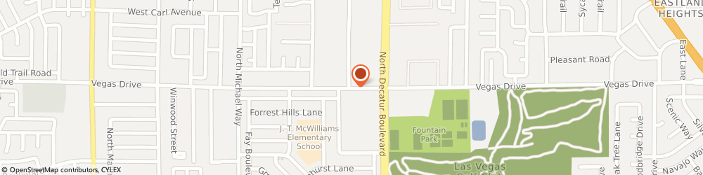 Route/map/directions to Kindercare Learning Centers, 89108 Las Vegas, 4912 VEGAS DR