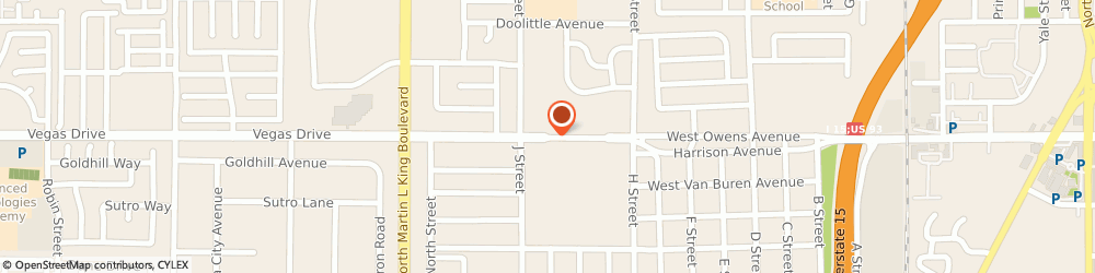 Route/map/directions to Employment & Training, 89106 Las Vegas, 1040 W OWENS AVE