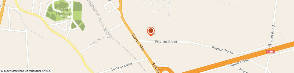 Route/map/directions to The Church of Jesus Christ of Latter-day Saints, 37087 Lebanon, 105 Peyton Road