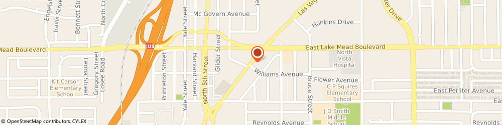 Route/map/directions to Manpower - Downtown Industrial, 89030 North Las Vegas, 314  BOULEVARD