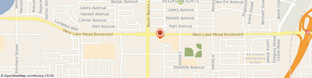 Route/map/directions to Cvs Pharmacy, 89106 Las Vegas, 1425 WEST LAKE MEAD BOULEVARD