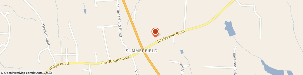 Route/map/directions to Summerfield United Methodist Church - Childrens Christian Playschool, 27358 Summerfield, 2334 Scalesville Road