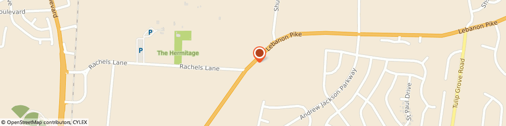 Route/map/directions to Chase, 37076 Hermitage, 4412 LEBANON PIKE # A