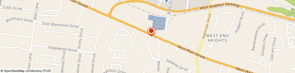 Route/map/directions to Chase, 37087 Lebanon, 1416 WEST MAIN STREET # M